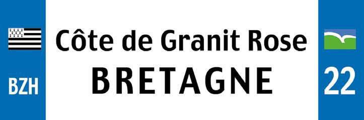 18 - Magnet COTE DE GRANIT ROSE