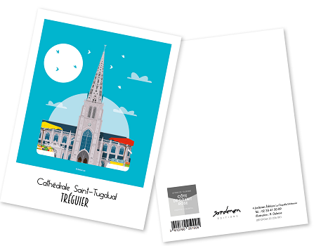 30 - Carte postale TREGUIER Raphaël Delerue