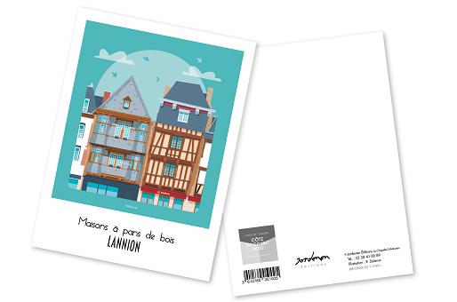 27 - Carte postale LANNION Raphaël Delerue