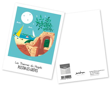 31 - Carte postale PLESTIN Raphaël Delerue