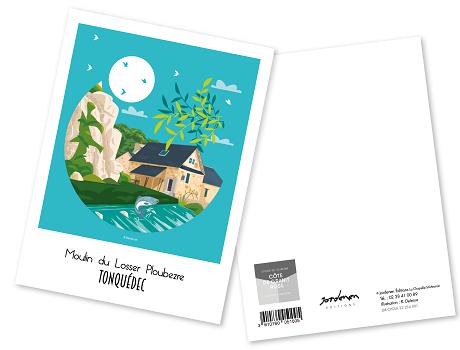 29 - Carte postale TONQUEDEC Raphaël Delerue