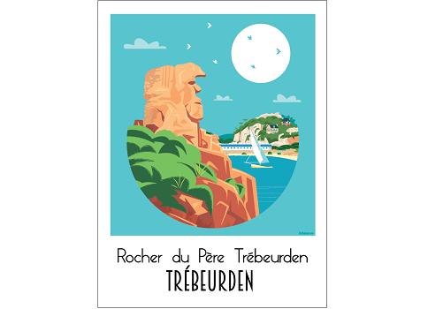 43 - Carte postale TREBEURDEN Raphaël Delerue