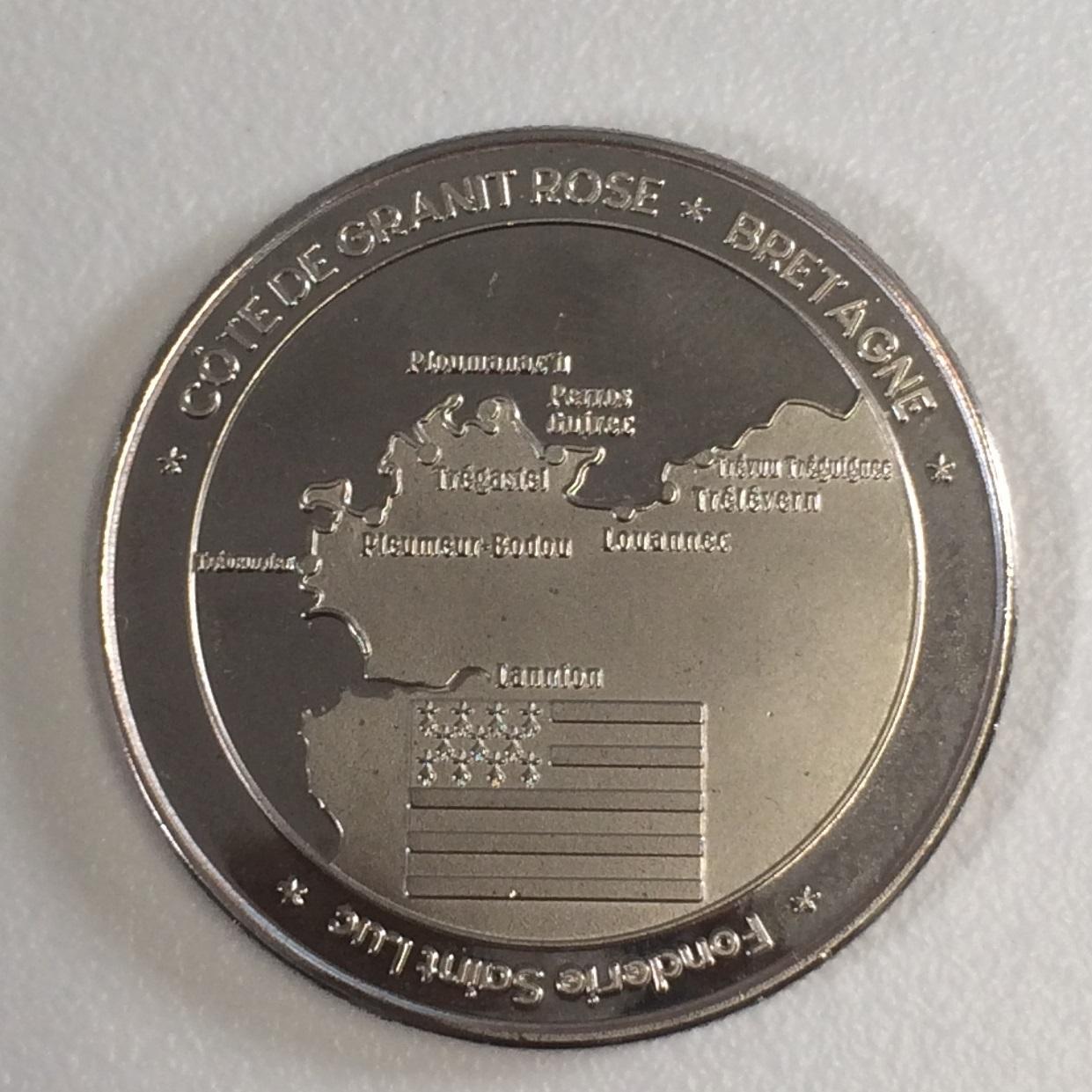 25 - Médaille du souvenir TREGASTEL