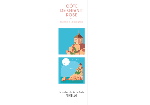37 - Marque page PORT-BLANC Raphaël Delerue