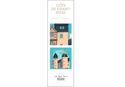39 - Marque page TREGUIER les 2 tours Raphaël Delerue
